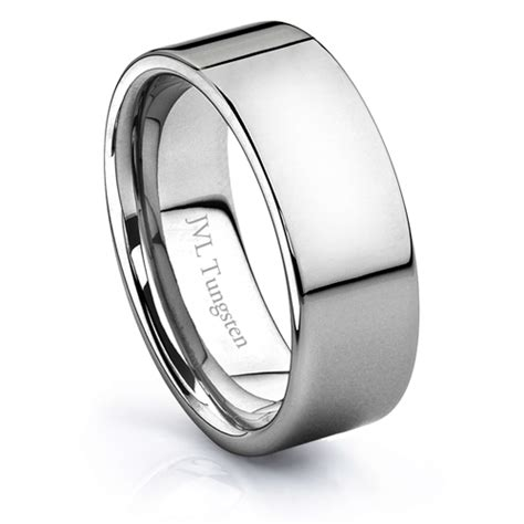 jvl jewelry tungsten wedding band rings