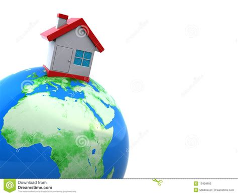 home on earth home on earth stock photography image 13429102
