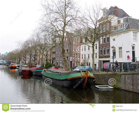 boat houses amsterdam amsterdam houses and boat homes on water canals 0986 editorial photo image 56941351