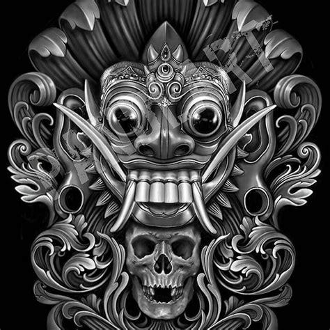 barong ket tattoo 9 gambar barong tattoo terbaik di pinterest