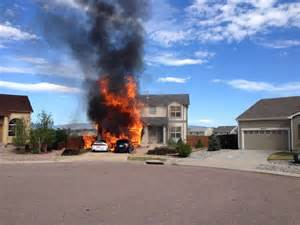 home fires two cars home destroyed in eastern colorado springs house