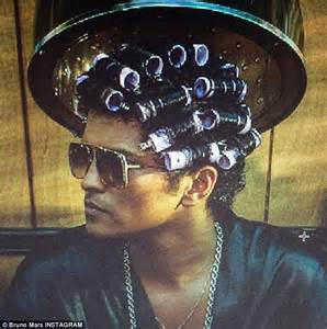 his hair in rollers image gallery his hair in curlers