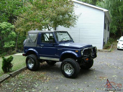 Suzuki Samurai Transmission For Sale Suzuki Samurai 4x4 1988 1988 5 Rust Free
