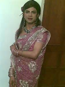 indian crossdressers wearing saree and salwar kameez