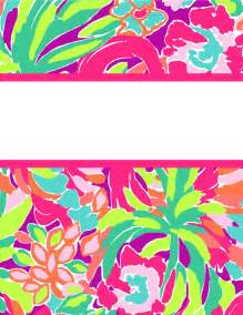 lilly pulitzer binder cover templates the gallery for gt lilly pulitzer binder cover templates