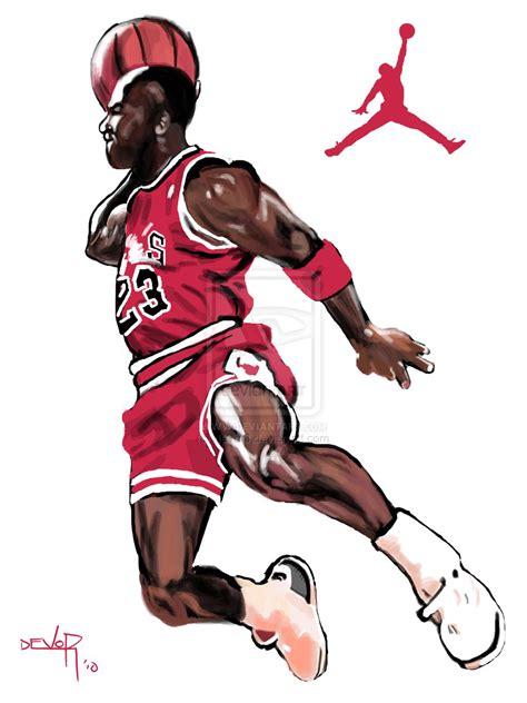 wallpaper jordan cartoon michael jordan 23 clipart