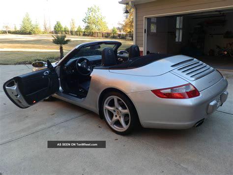 2005 Porsche 911 Convertible 2 Door 3 6l