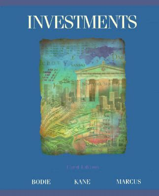 Buku Bisnis Investments Bodie Markus investments 3rd edition rent 9780256146387 0256146381