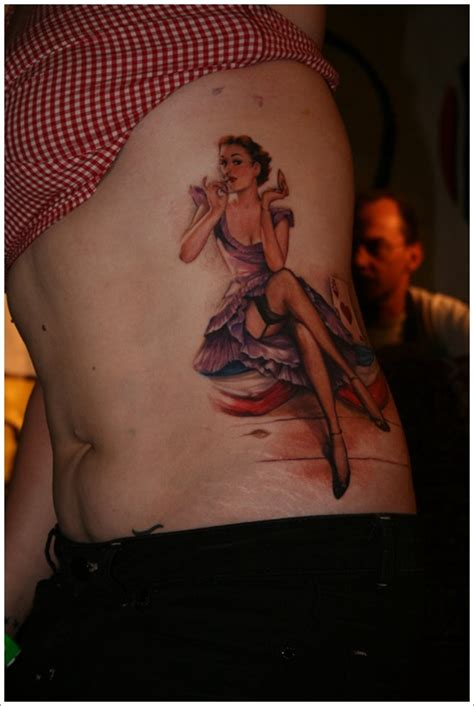 tattoo placement for pin up girl 35 naughty and sexy pin up girl tattoos