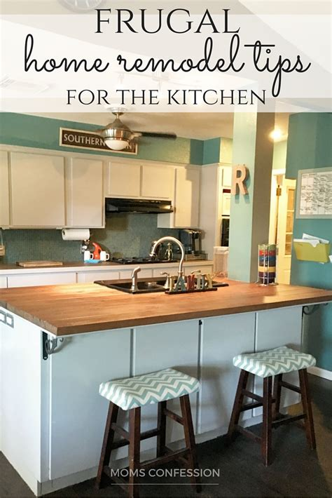 frugal kitchens and cabinets frugal home remodel tips for kitchens