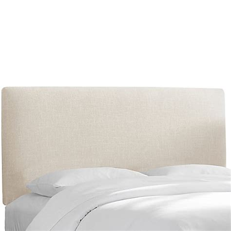 linen upholstered king headboard buy skyline furniture upholstered california king