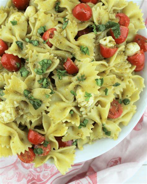 pasta salad pesto pesto pasta salad leggings n lattes