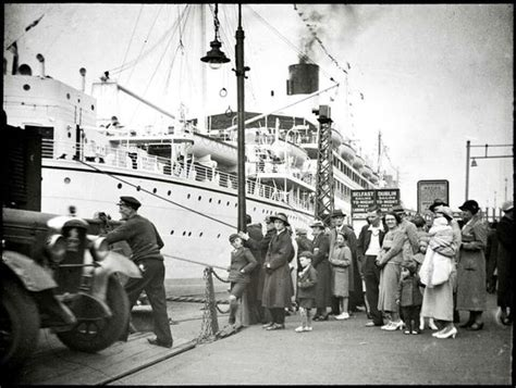 from liverpool to dublin by boat liverpool to dublin ferry liverpool and dublin 1950s 60s