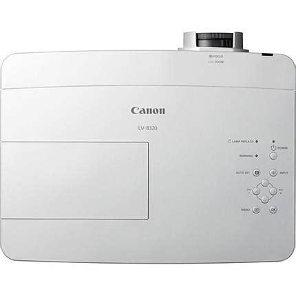 Proyektor Canon Lv 8320 Canon Lv 8320 Multimedia Projector White Projectors Canon At Unique Photo