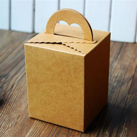 How To Make A Cookie Box Out Of Paper - kraft cake box diy gift box cookie boxes