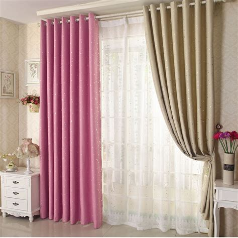 thermal bedroom curtains honana wx c13 sky star blackout curtains thermal insulated