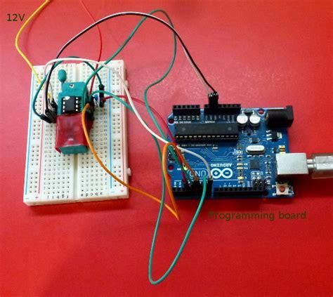 high voltage serial programming avr high voltage programming for avr chips