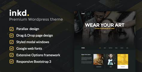 themeforest javelin artist portfolio wordpress themes free premium templates
