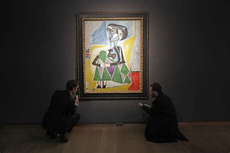 picasso painting sale today ap newsbreak 20m 30m picasso portrait of muse up for