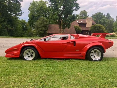 buy car manuals 1986 lamborghini countach head up display quot no reserve quot lamborghini countach 25th anniversary v8 replica kitcar fiero caddy classic