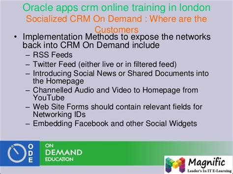 oracle tutorial in mumbai oracle crm administrator training and placements