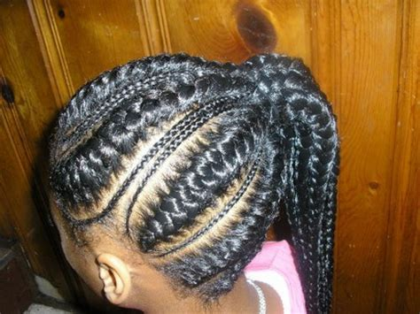 Black kids hairstyles braids