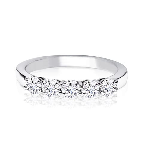 platinum five eternity ring het1001 laing