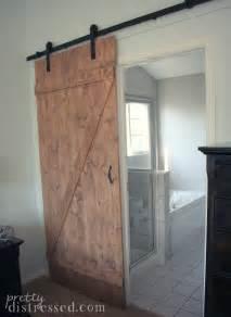 barn door ideas for bathroom pretty distressed diy distressed sliding barn door