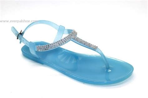 everpal shoes wholesale slippers flip flops sandals garden clogs china pvc jelly sandals blue cheap jelly shoes wholesale