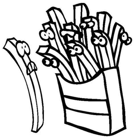 french fries coloring book related keywords french fries