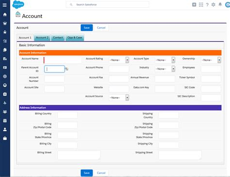page layout questions in salesforce 4 13 sles of salesforce lightning design system
