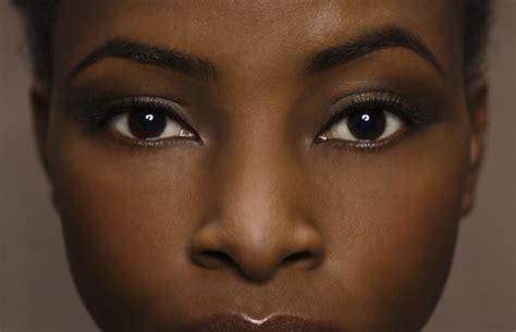 black women eyebrow black arched onyx truth