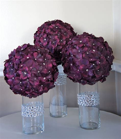 Cheap Fish Bowl Vases 25 Best Ideas About Flower Ball Centerpiece On Pinterest