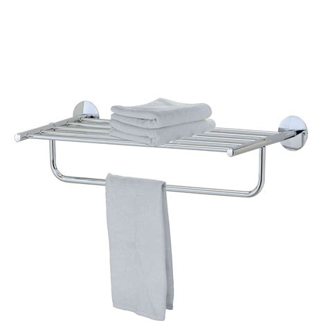 Towel Shelf Chrome by Modern Chrome Quality Bathroom Shelf Towel Stand Rack