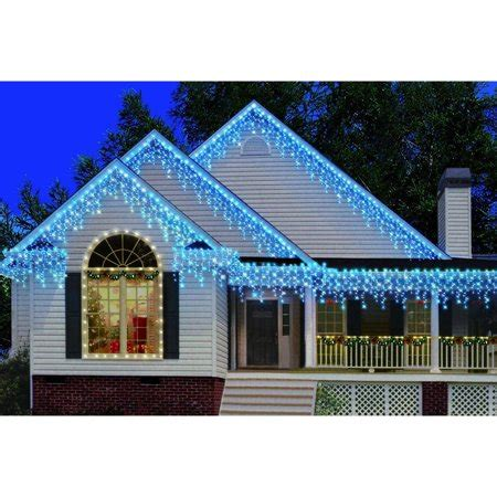 strobeing icicle lights at universal studios christmas decorations time 300 count heavy duty icicle lights blue walmart