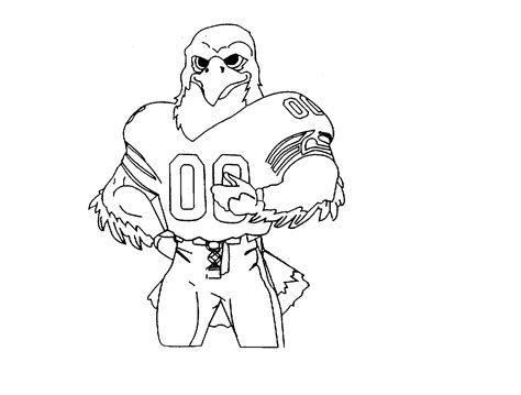 Coloring Pages Of Seahawks Symbol Coloring Pages Seahawks Color Pages
