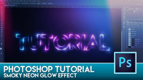 photoshop cs3 glow effect tutorial photoshop tutorial smoky neon glow effect doovi