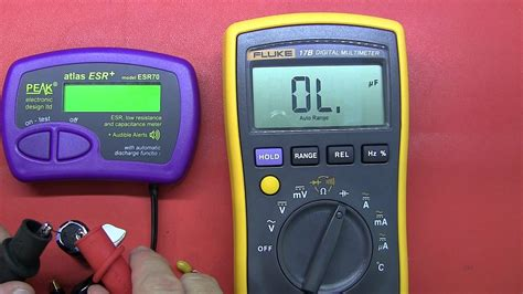 how to check capacitor with multimeter pdf review peak atlas esr70 capacitance and esr meter