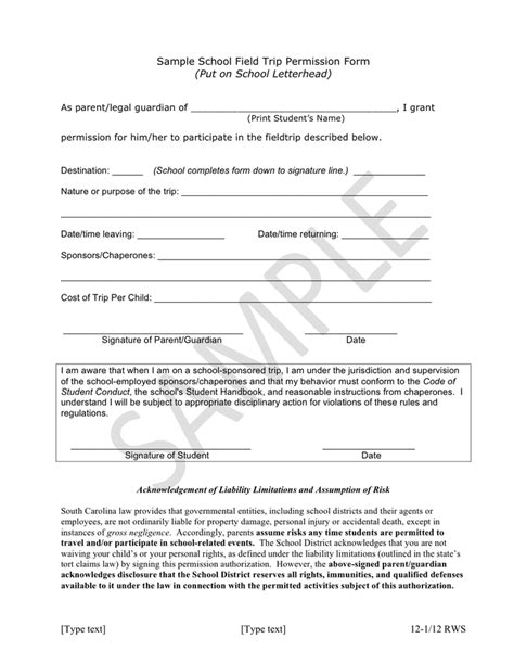 27 images of parental permission form template church infovia net