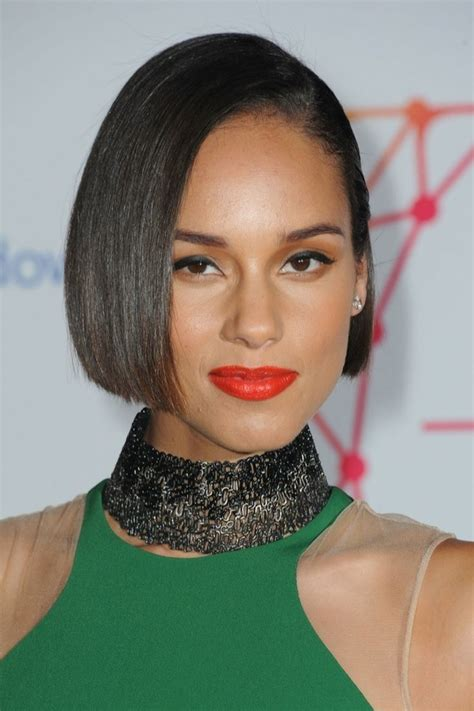alicia keys new haircut 7 fun and funky bobs for short to medium length hair