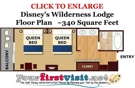 Disney Wilderness Lodge Villas Floor Plan - theming and accommodations at disney s wilderness lodge