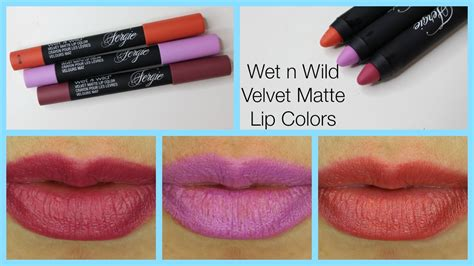 n velvet matte lip color 60 second review n velvet matte lip color