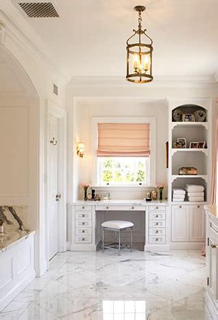 pink roman shade transitional bathroom windsor smith