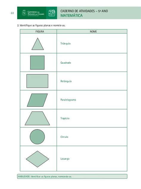 figuras geometricas atividades 4o ano caderno do professor de matematica paic vol ii 3 186 e 4 186