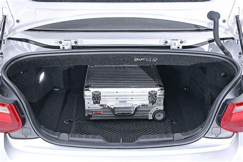 Bmw 2er Cabrio Kofferraum bmw 2er cabrio sitzprobe bilder autobild de