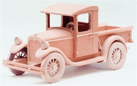 Wooden Skrew Truck 1928 chevrolet woodworking plan approx 13 quot
