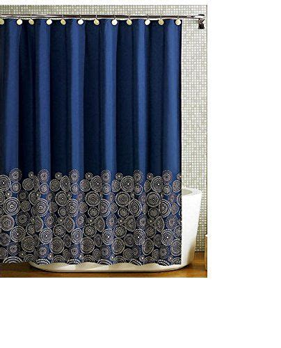 navy blue shower curtains shower curtains navy blue york fabric shower curtain