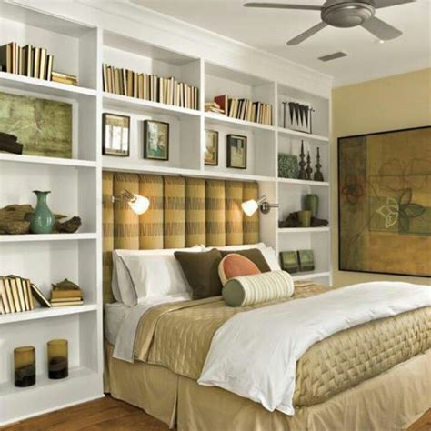 shelves  bed bedrooms home bedroom bookcase