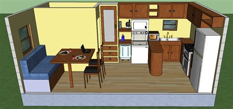 10 X 20 Interior Floor Plans by Small Cabin Plans With Loft 10 X 20