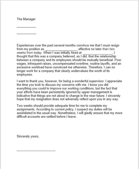 Thank You Letter Upon Resignation thank you for your time and consideration